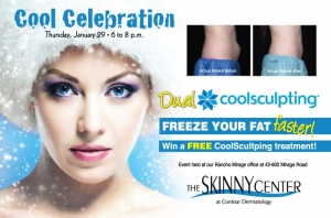 Contour Dermatology is having a CoolSculpting Celebration on January 29, 2015!