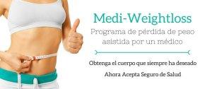 Medi-Weightloss - Programa de pérdida de peso asistido por un médico