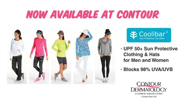 Coolibar Sun Protective Clothing now available at Contour Dermatology