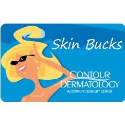 Contour Dermatology Skin Bucks Gift Cards