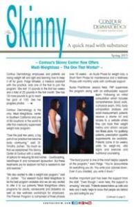 The Skinny Newsletter, Spring 2015