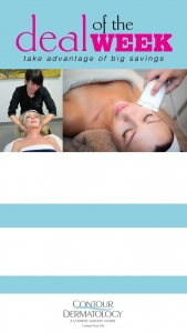 48 Hour Deal, Contour Facial and FSD Anti-Aging Treatment for half off