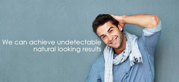 Advanced Hair Restoration, undetectable natural looking results