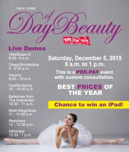 Day of Beauty, December 5, 2015