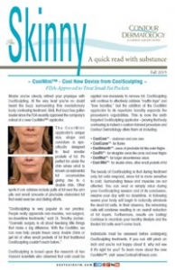 The Skinny Newsletter Fall Edition