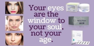 Your eyes are the window to your soul not your age!