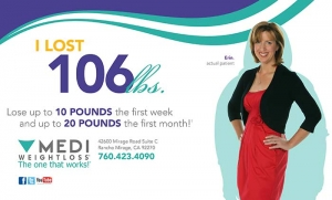 Erin lost 106 pounds with Jochen Medi-Weightloss, The One That Works