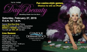 You're invited to Contour Dermatology's Day of Beauty, Feb 27, 2016!
