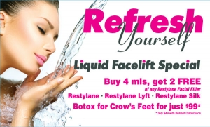 Liquid Facelift Specials all month long at Contour Dermatology