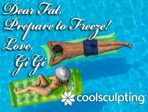 Dear Fat, Prepare to freeze!