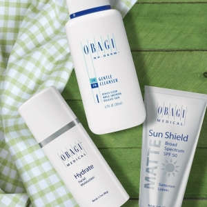 Obagi Hydrate, Cleanser and Sun Shield!