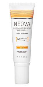 Neova DNA Damage Control Silc Sheer 2.0 protector solar