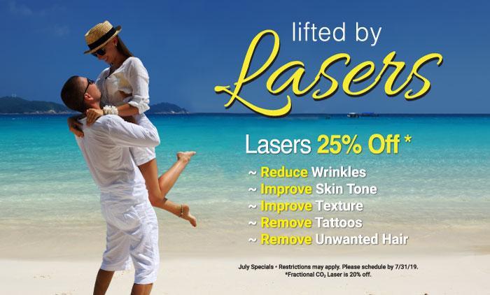 Contour Dermatology tiene un láser especial para que revises este mes 25% de descuento en nuestros dispositivos / láseres cosméticos (el láser de CO2 tiene un 20% de descuento).